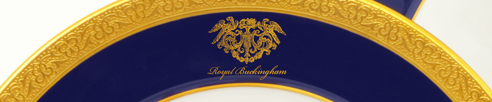 Royal Buckingham - Harlech Personalized Dinner Service