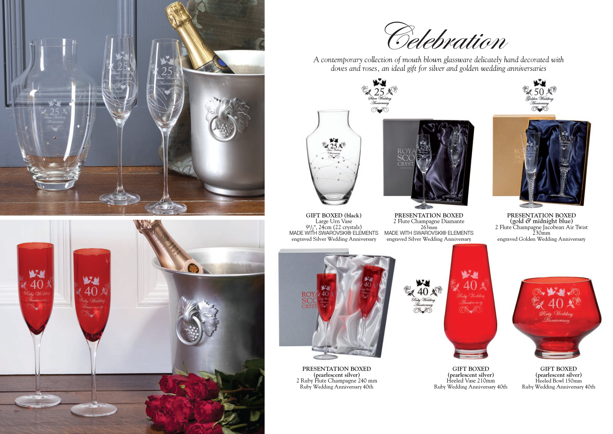 Royal Scot Crystal - Celebration