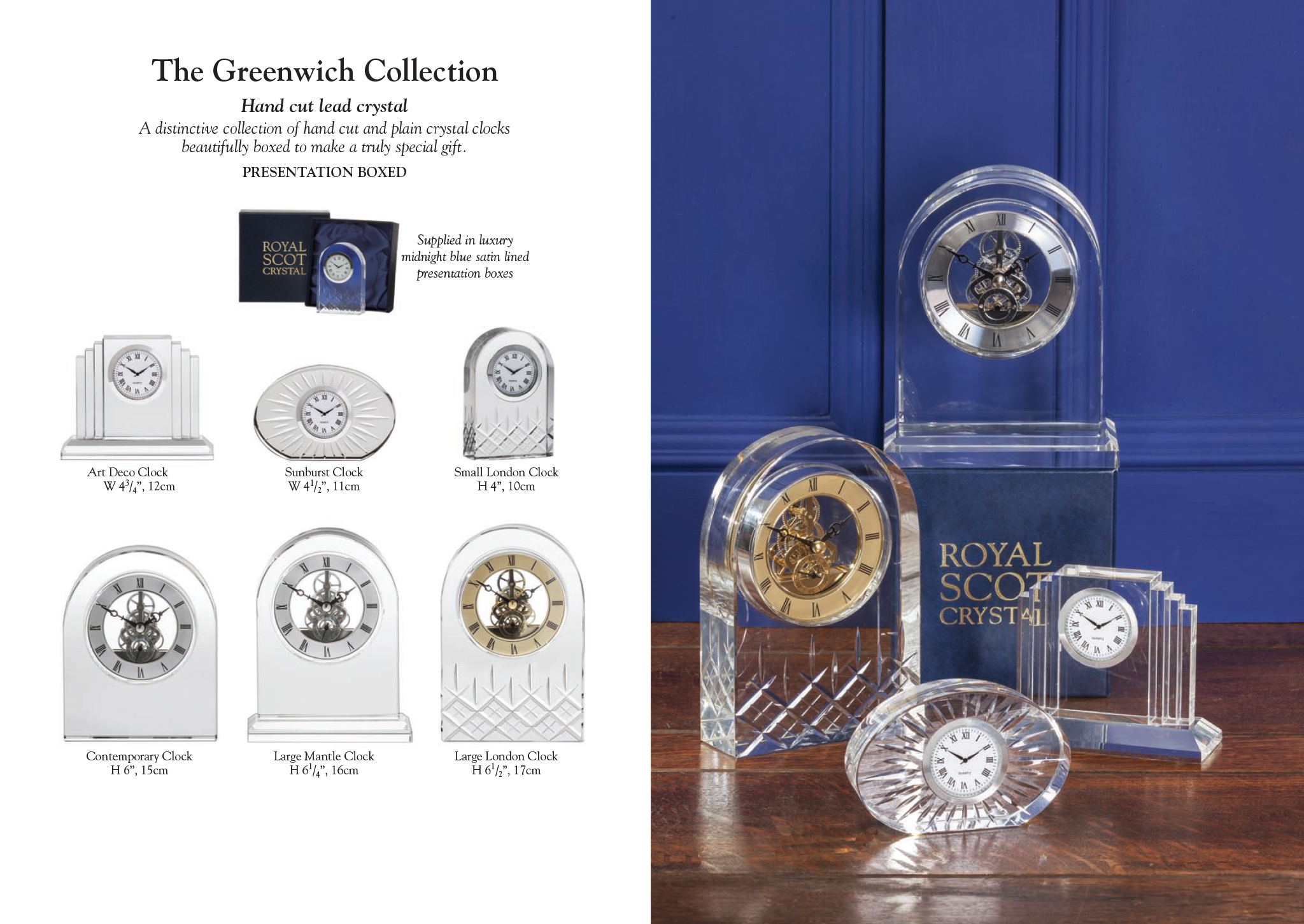 Royal Scot Crystal - The Greenwich Collection