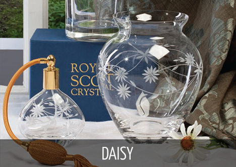 Royal Scot Crystal - Daisy