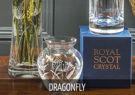 Royal Scot Crystal - Dragonfly