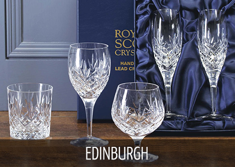 Royal Scot Crystal - Edinburgh