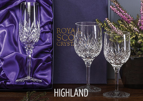 Royal Scot Crystal - Highland