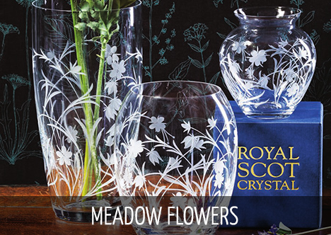 Royal Scot Crystal - Meadow Flowers