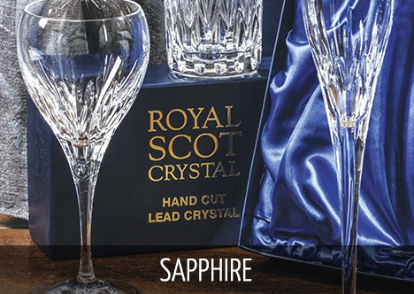 Royal Scot Crystal - Sapphire
