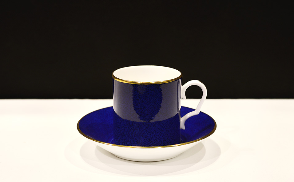 Tewkesbury Westminster Tea cup and saucer in Purple colour